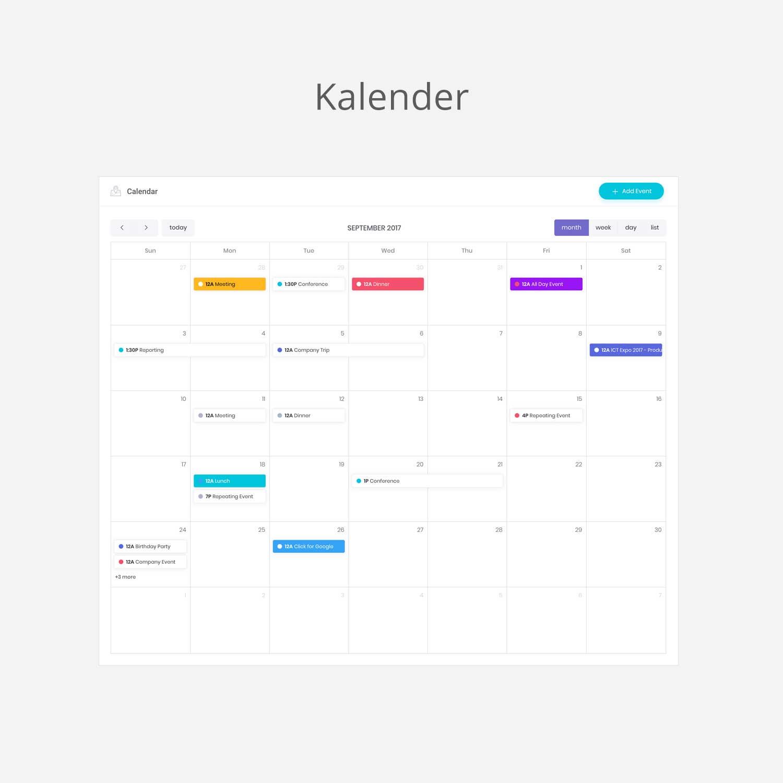 Intranet Kalender